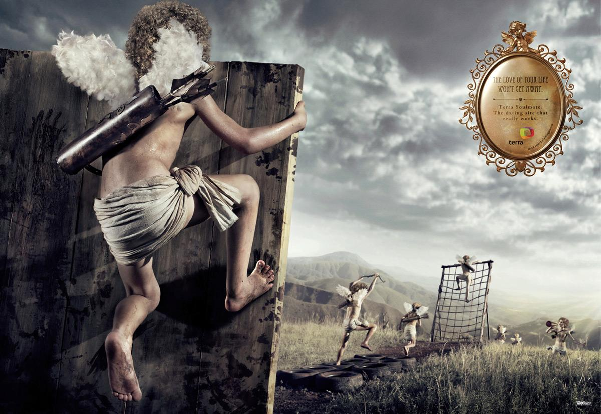 Terra Print Ad -  Cupido, land