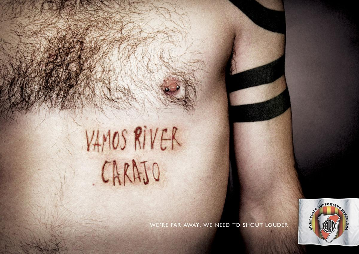 River Plate Print Ad -  Cutter