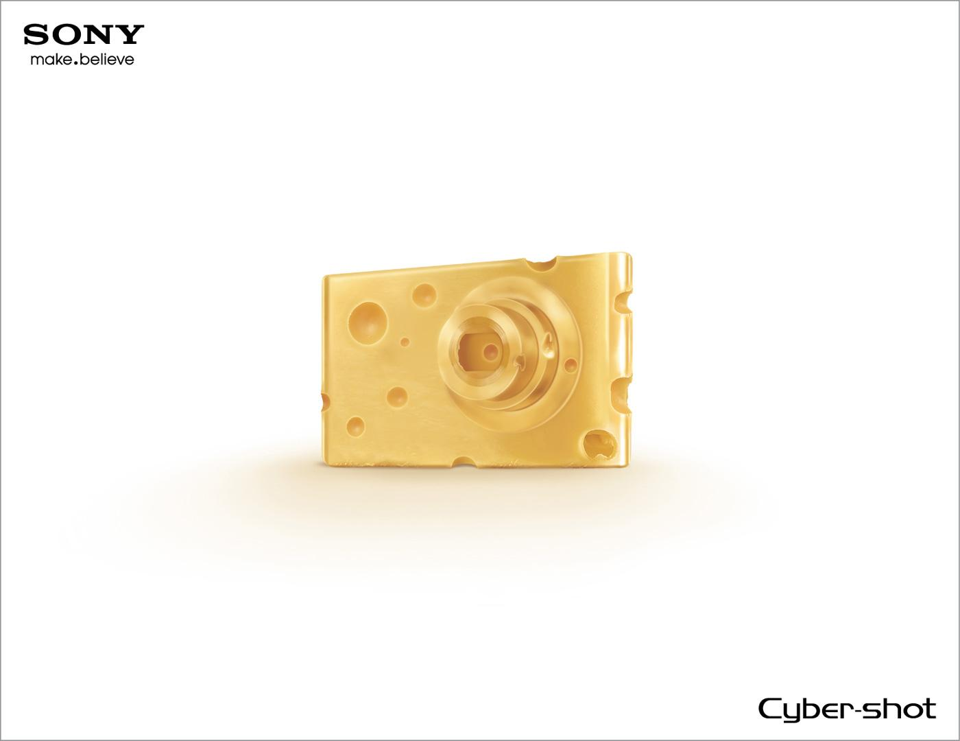 Sony Print Ad -  Cheese