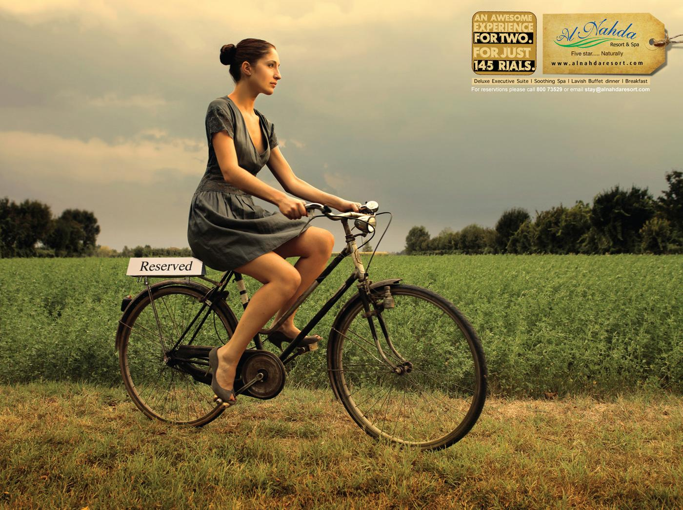 Al Nahda Resort & Spa Print Ad -  Cycle