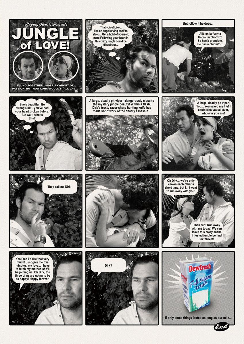 Dewfresh Print Ad -  Jungle of Love
