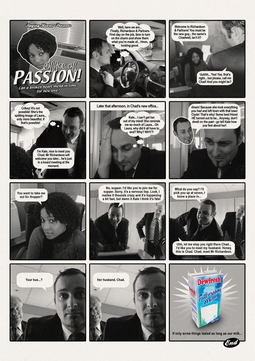 Dewfresh Print Ad -  Office of passion