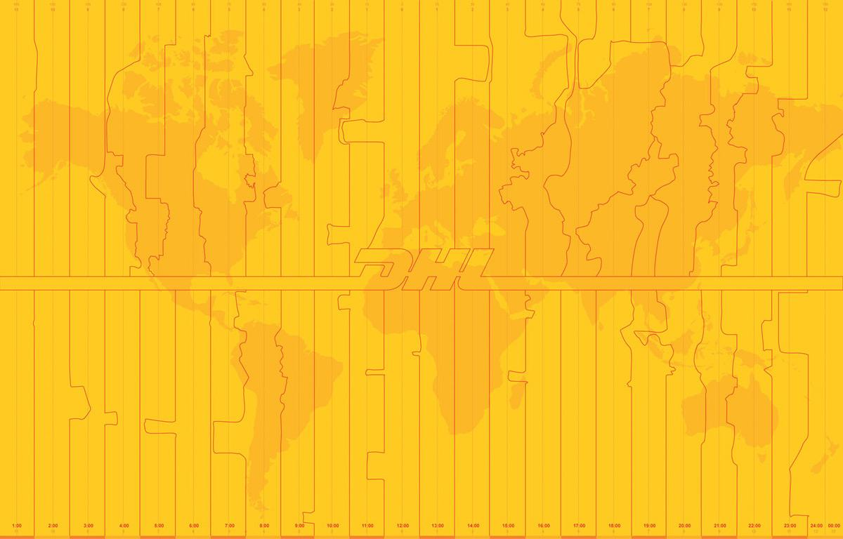 DHL Outdoor Ad -  One Timezone