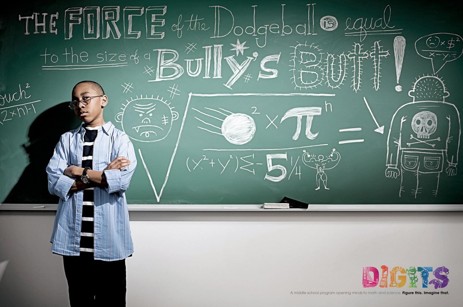 Digits Print Ad -  Dodgeball