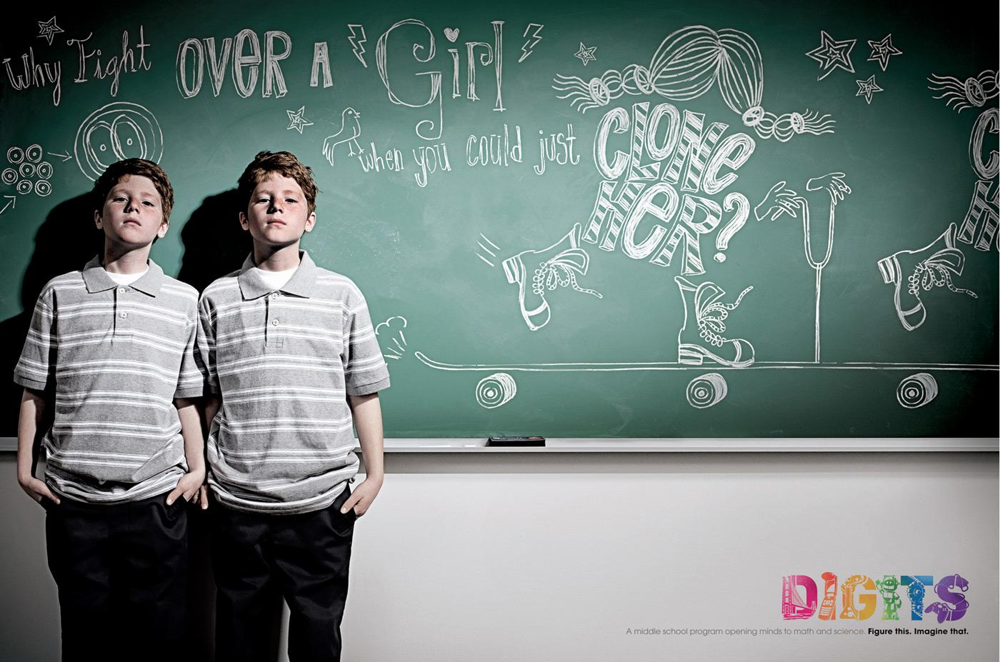 Digits Print Ad -  Clone