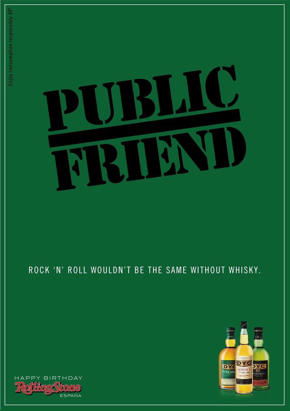 DYC Print Ad -  Public Friend