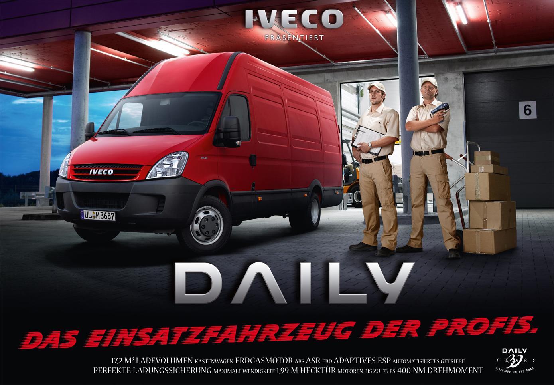 Iveco Print Ad -  Iveco presents, 1