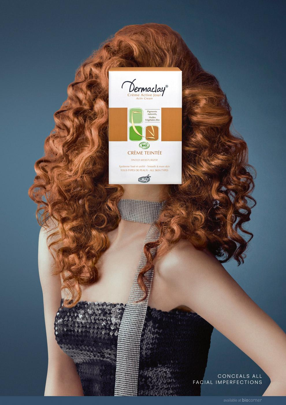 Dermaclay Print Ad -  No imperfection, 3