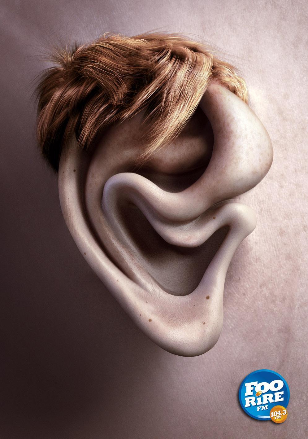 Foorire FM Print Ad -  Didier Risette