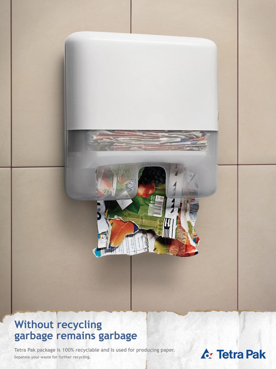 Tetra Pak Print Ad -  Dispenser