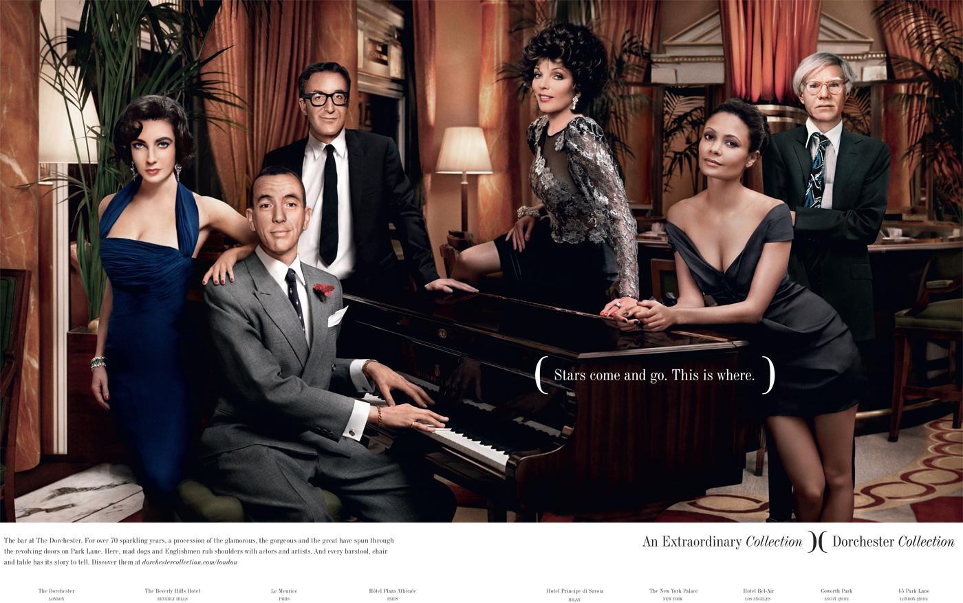 Dorchester Print Ad -  Stars