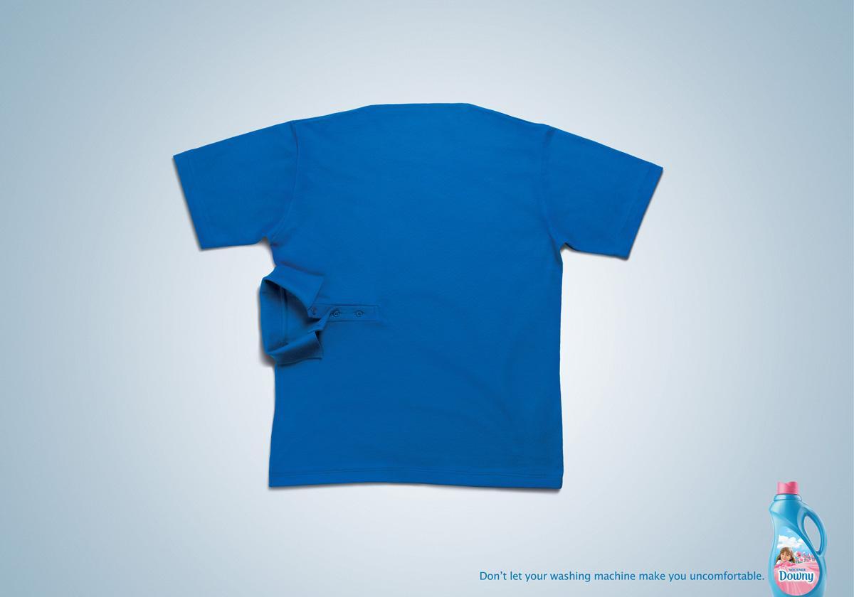 Downy Print Ad -  Blue