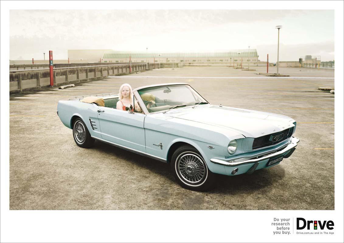 Drive Print Ad -  Albino