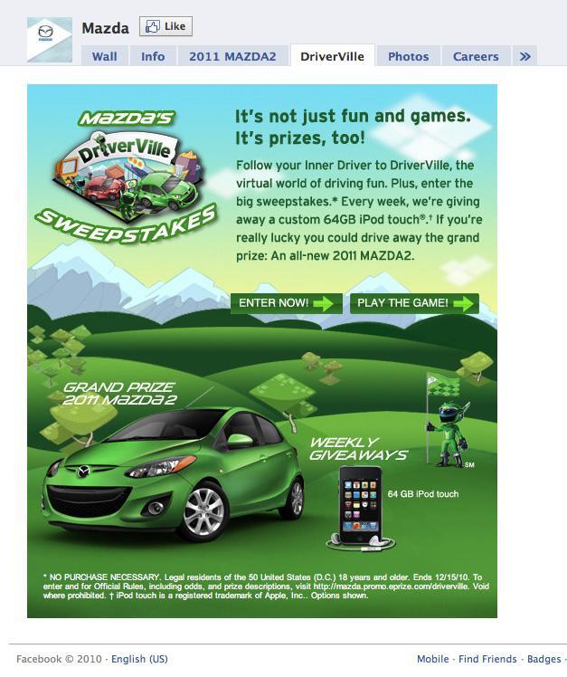 Mazda Digital Ad -  DriverVille