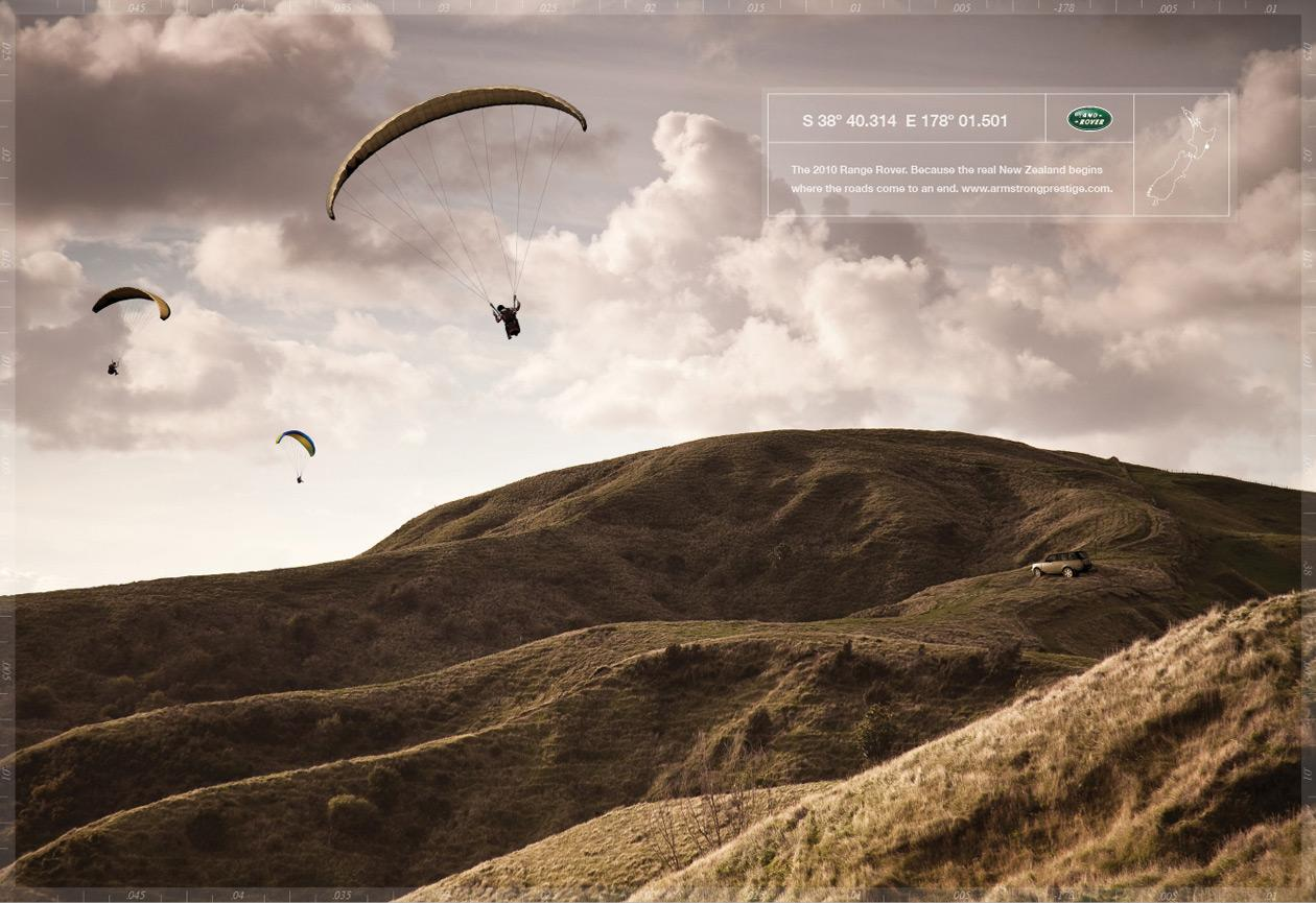 Land Rover Print Ad -  Dropzone