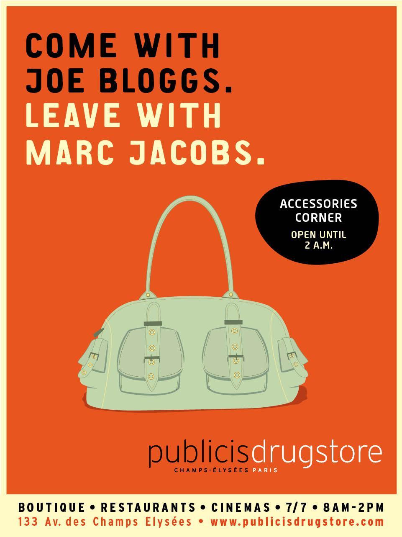 Drugstore Publicis Print Ad -  Bags