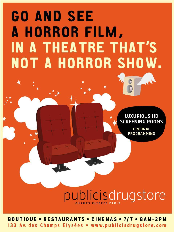 Drugstore Publicis Print Ad -  Cinema