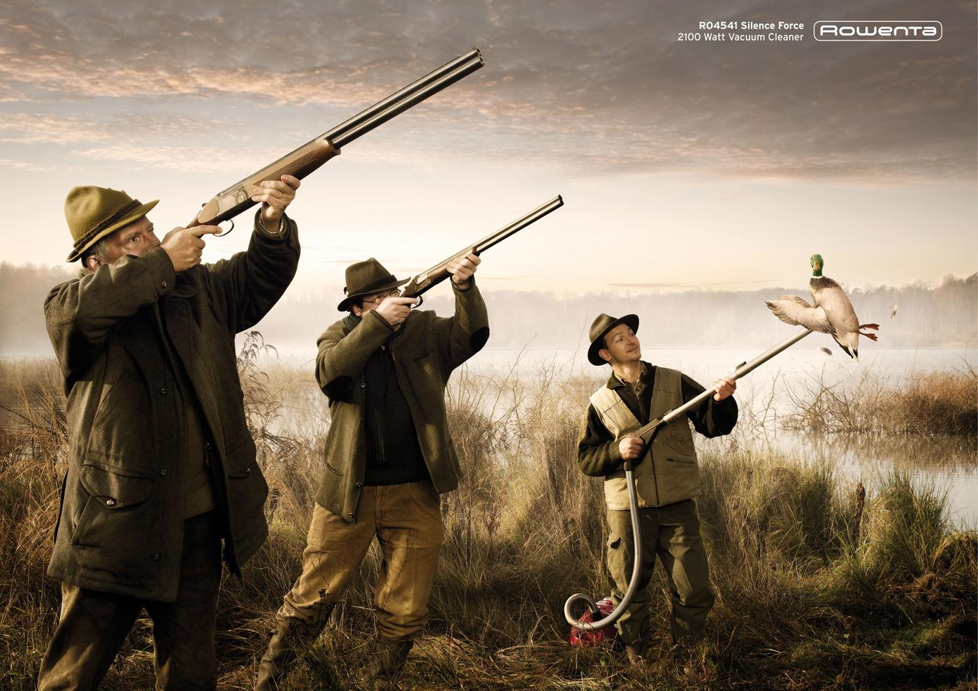 Rowenta Print Ad -  Duck