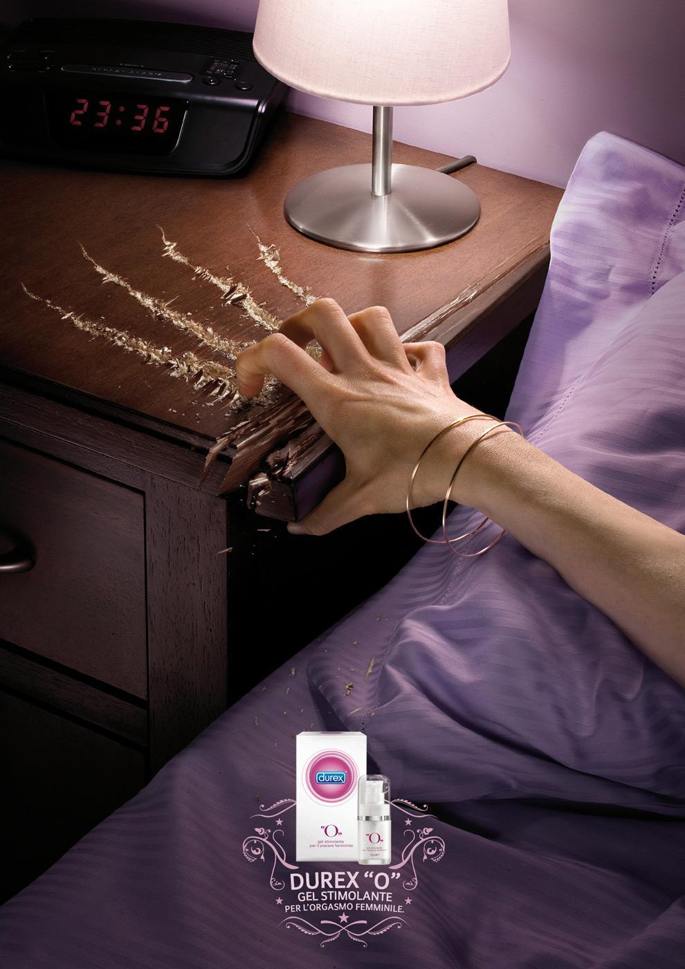 Durex Print Ad -  The Power of pleasure