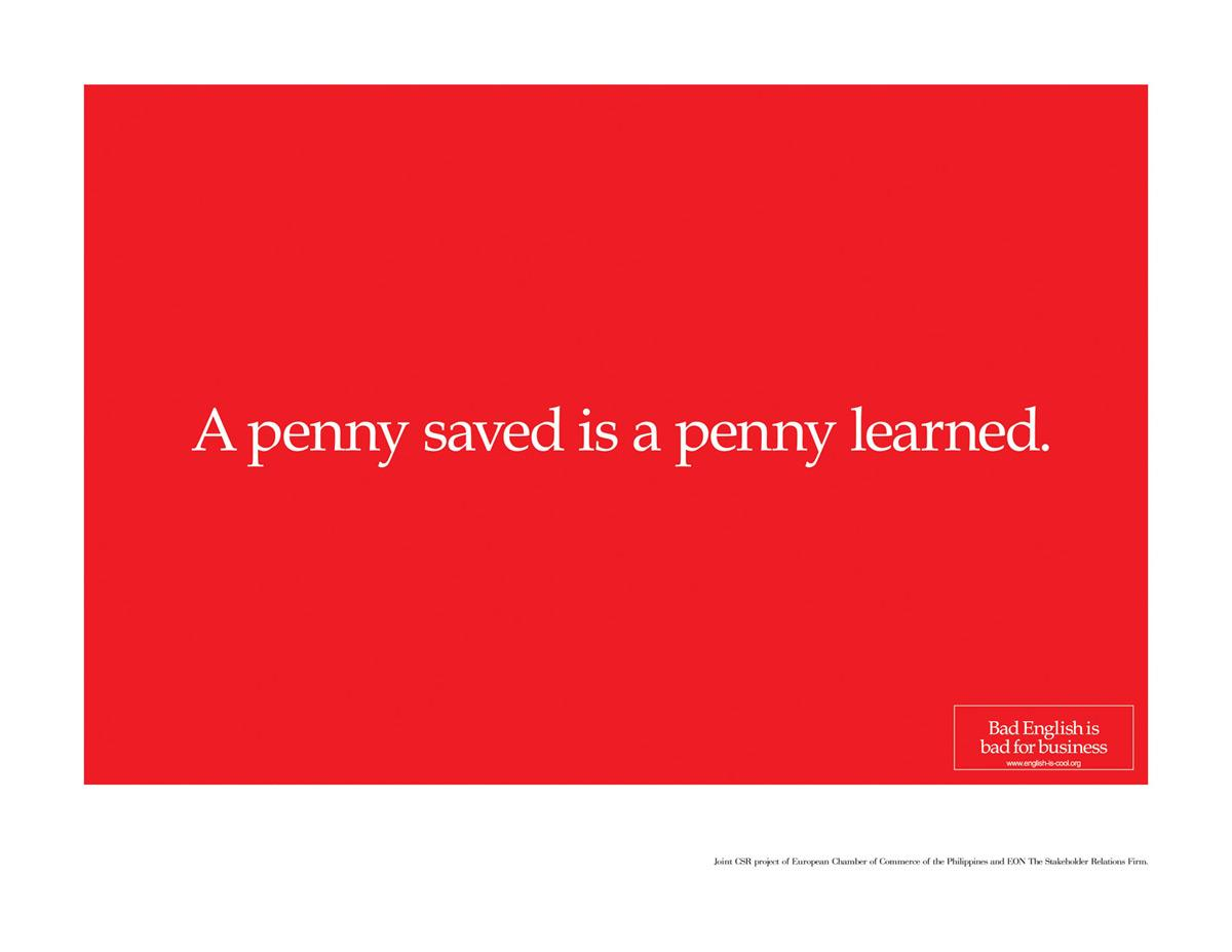 A penny saved is a penny learned