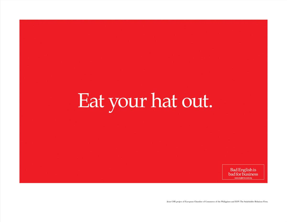 Eat your hat out