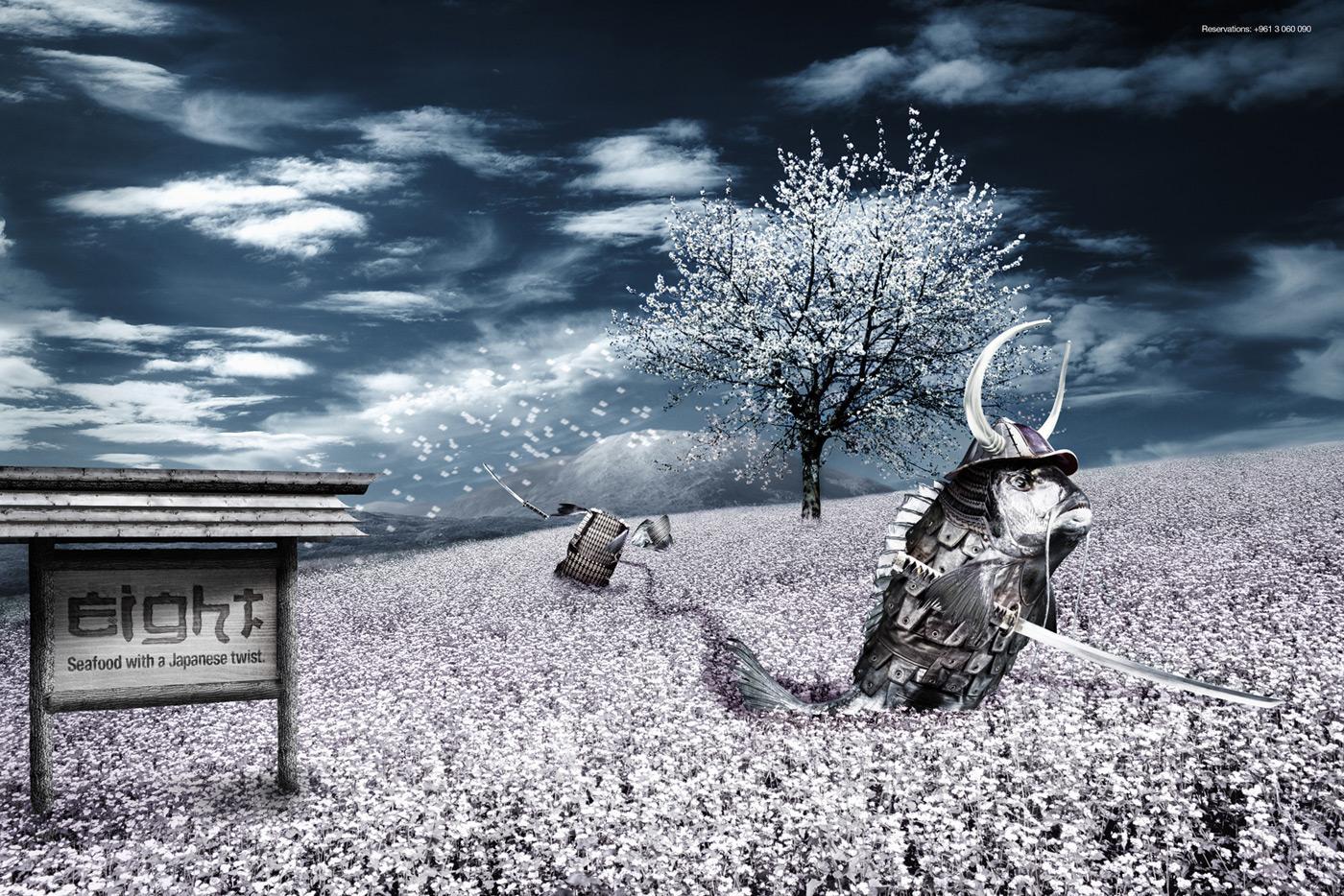 Eight Print Ad -  Samurai