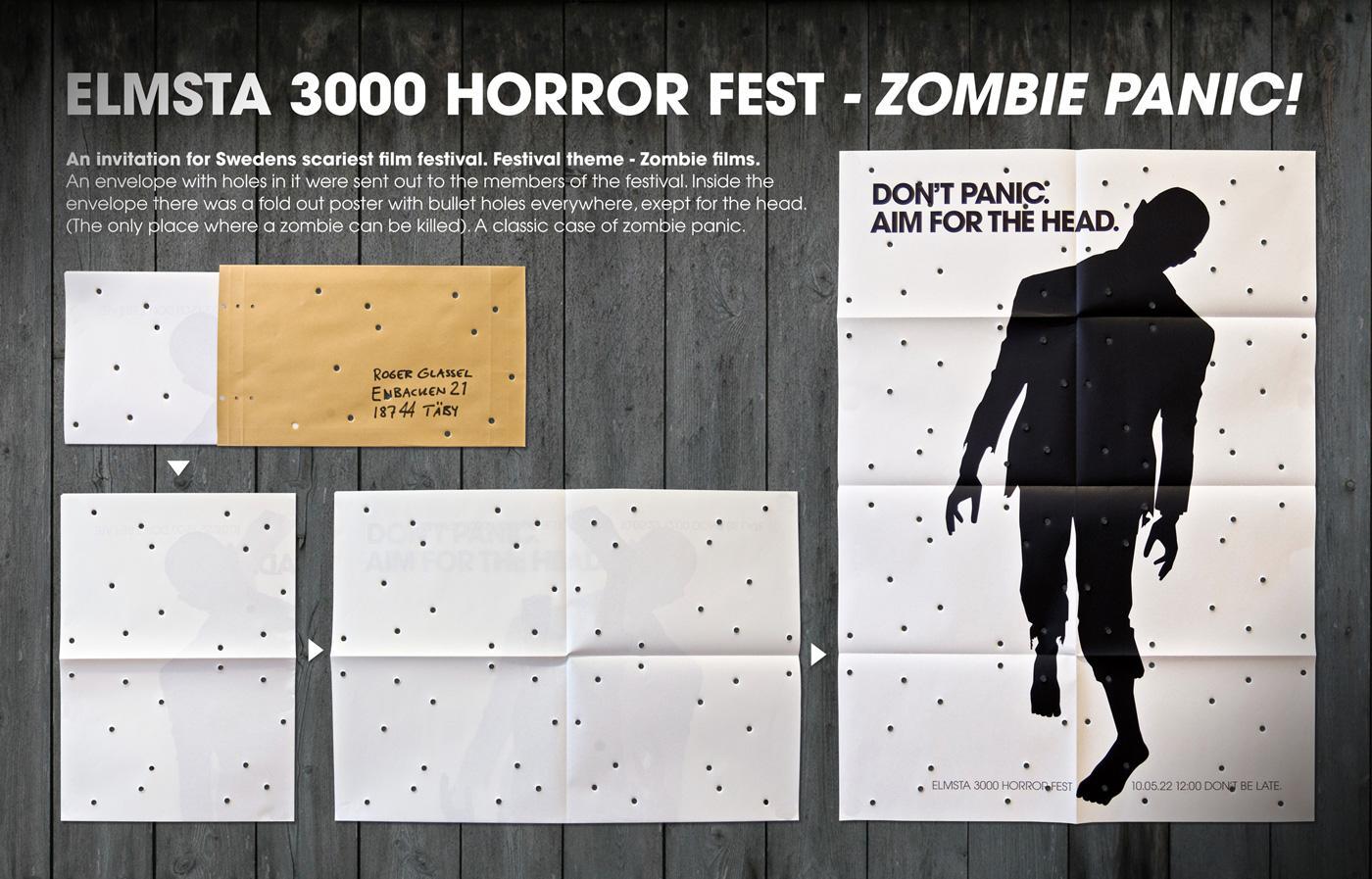 Elmsta 3000 Horror Fest Direct Ad -  Zombie Panic!