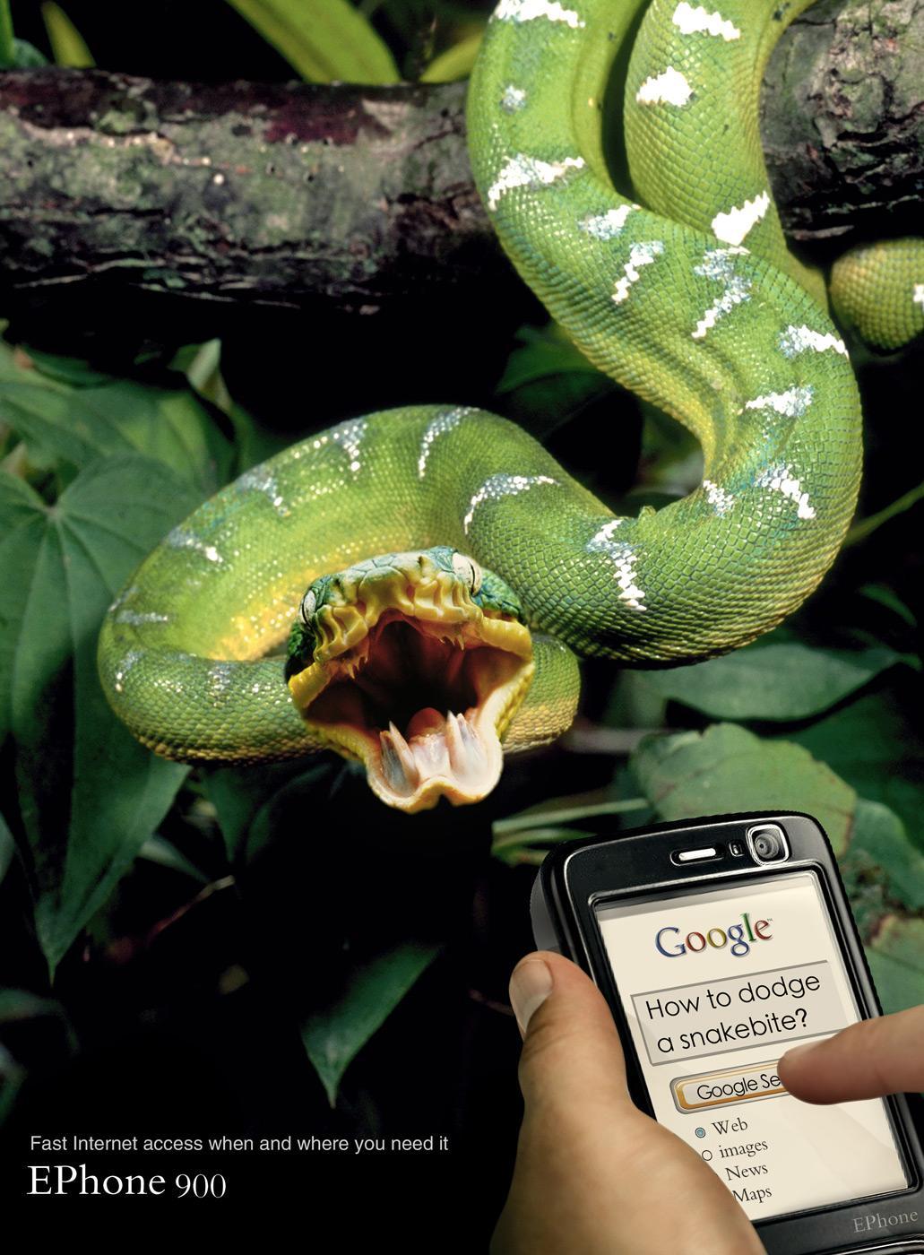 Ephone Print Ad -  Snakebite