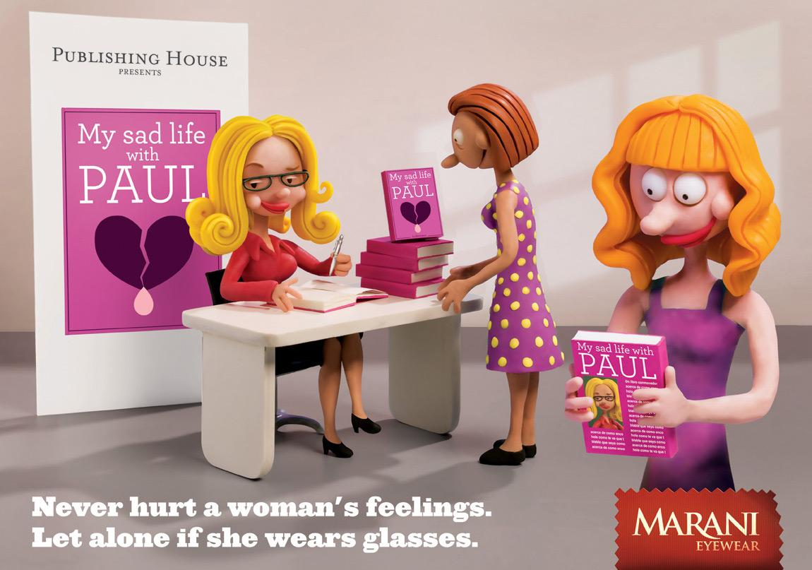 Marani Outdoor Ad -  Writer