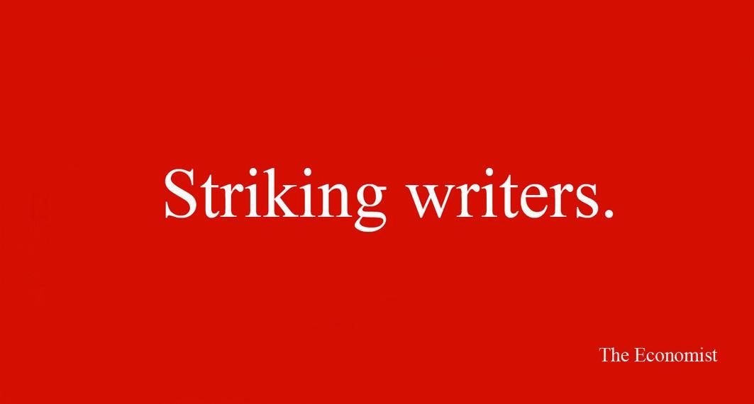 Striking writers
