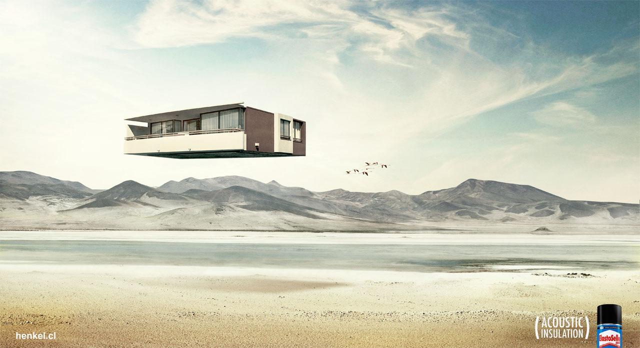 Elastosello Print Ad -  Desert
