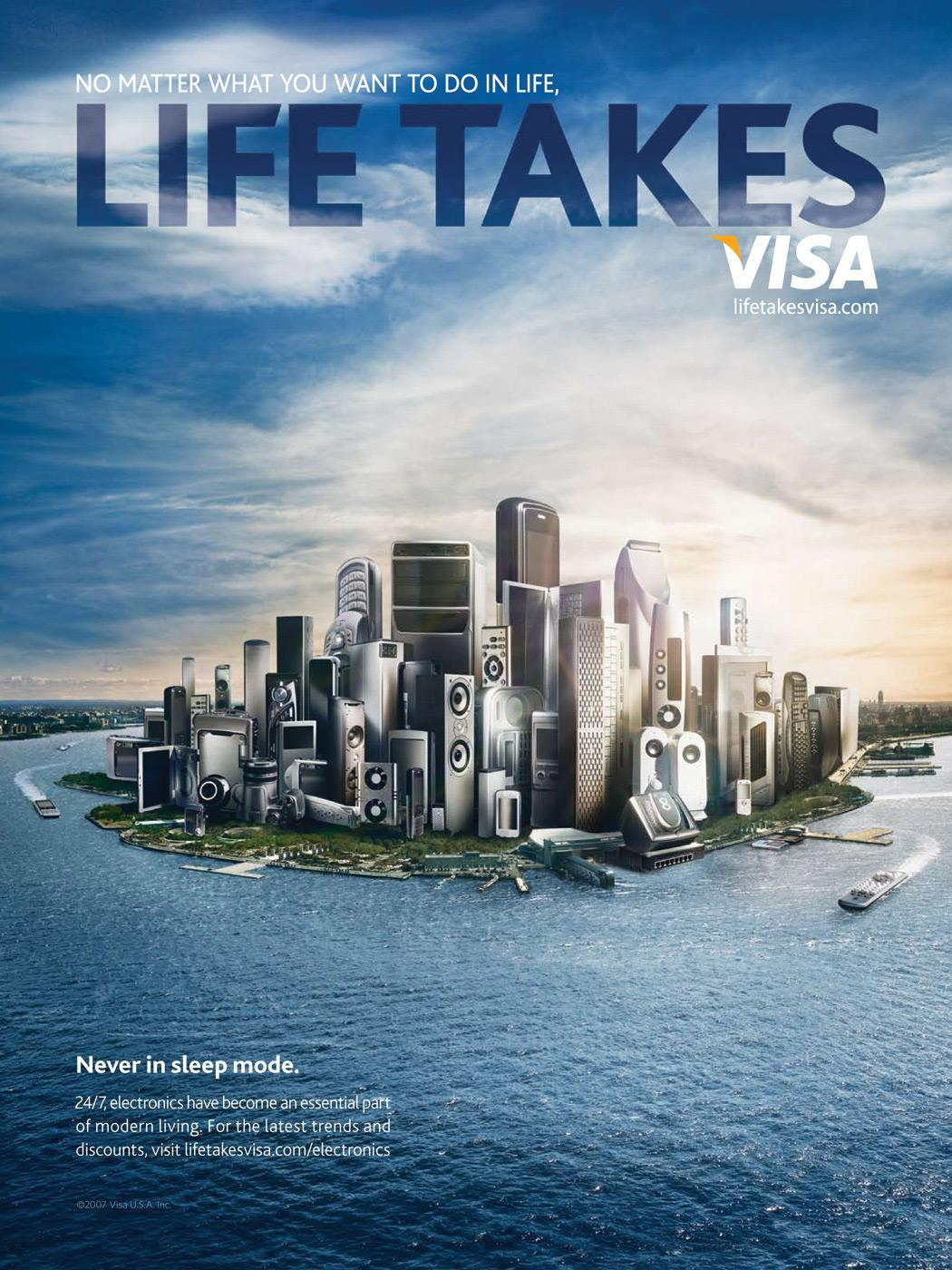 Life Takes Visa, Electronic city