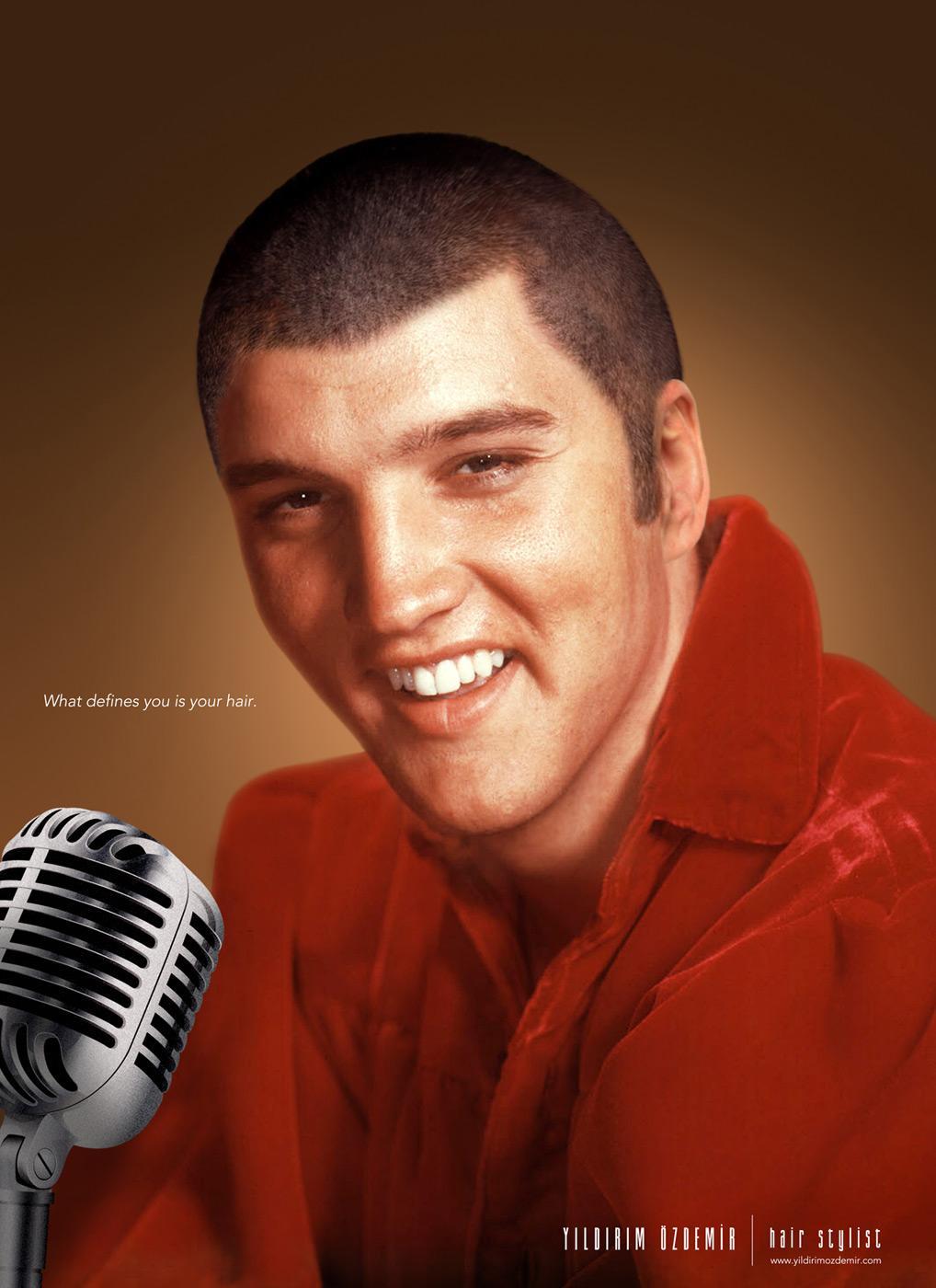 Yıldırım Ozdemir Print Ad -  Elvis