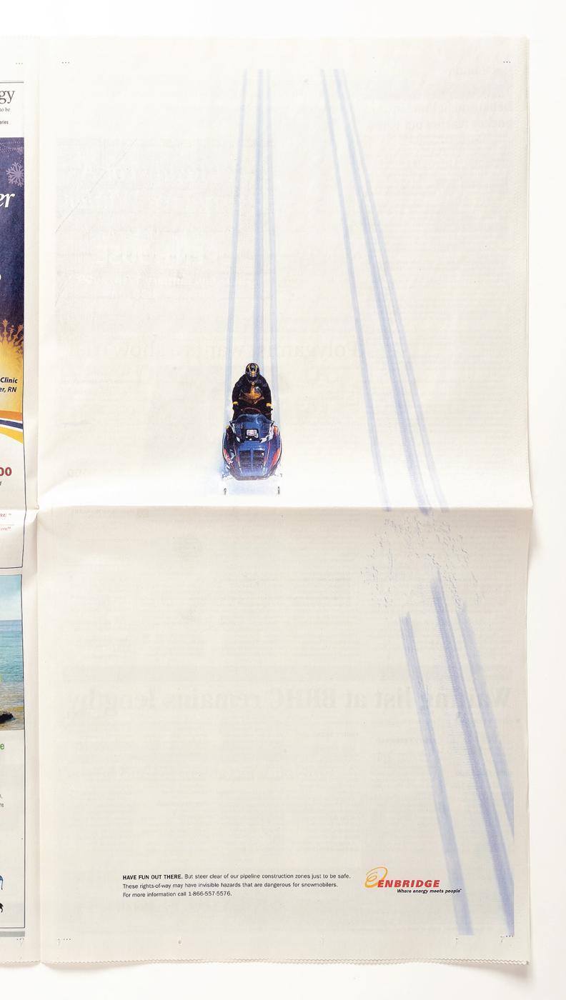 Enbridge Print Ad -  Jump