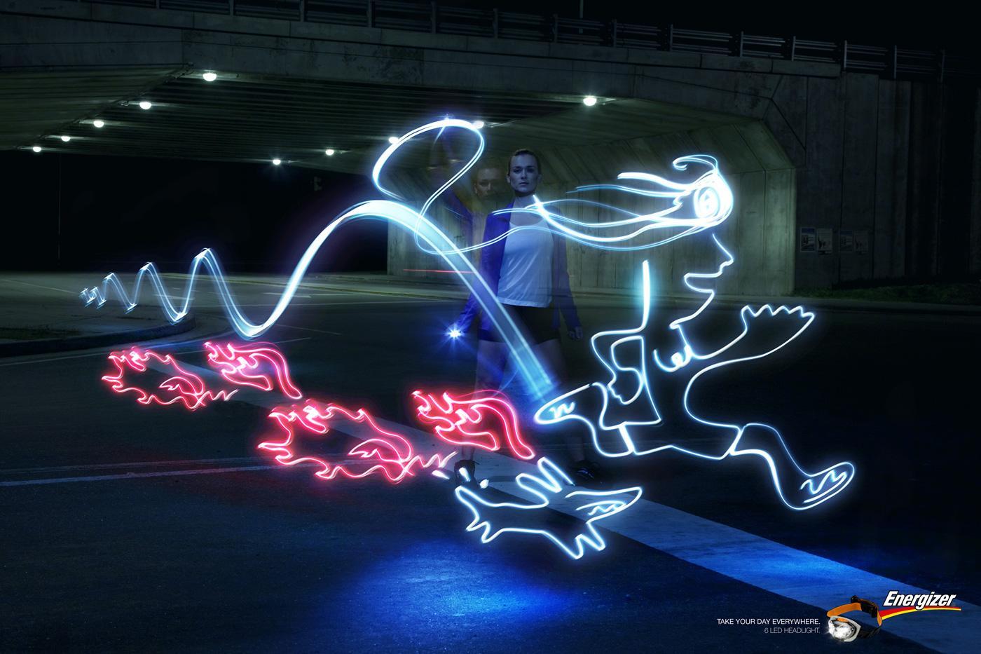 Energizer Print Ad -  Jogging
