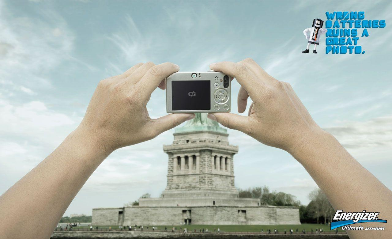 Energizer Print Ad -  Statue of Liberty