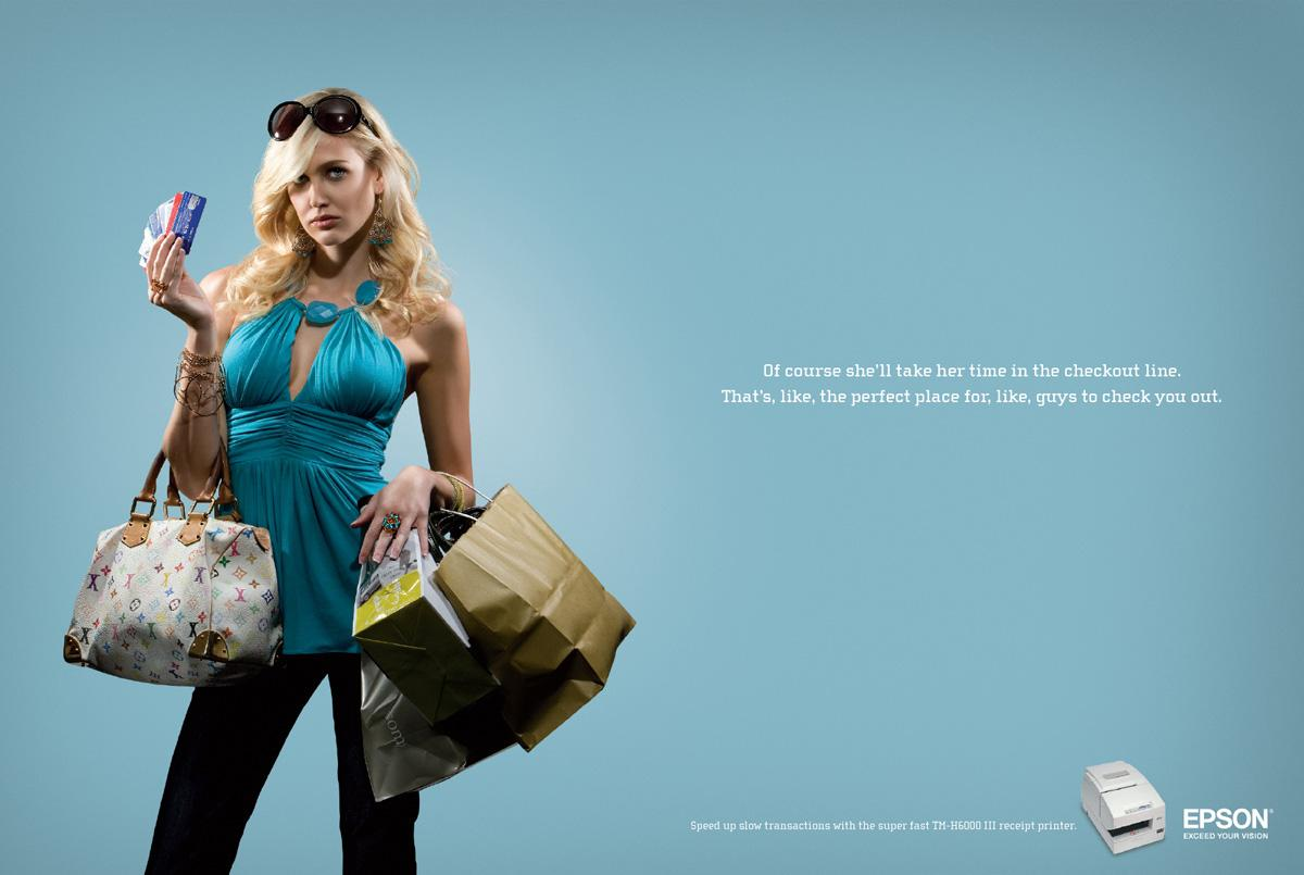 Epson Print Ad -  Credit princess
