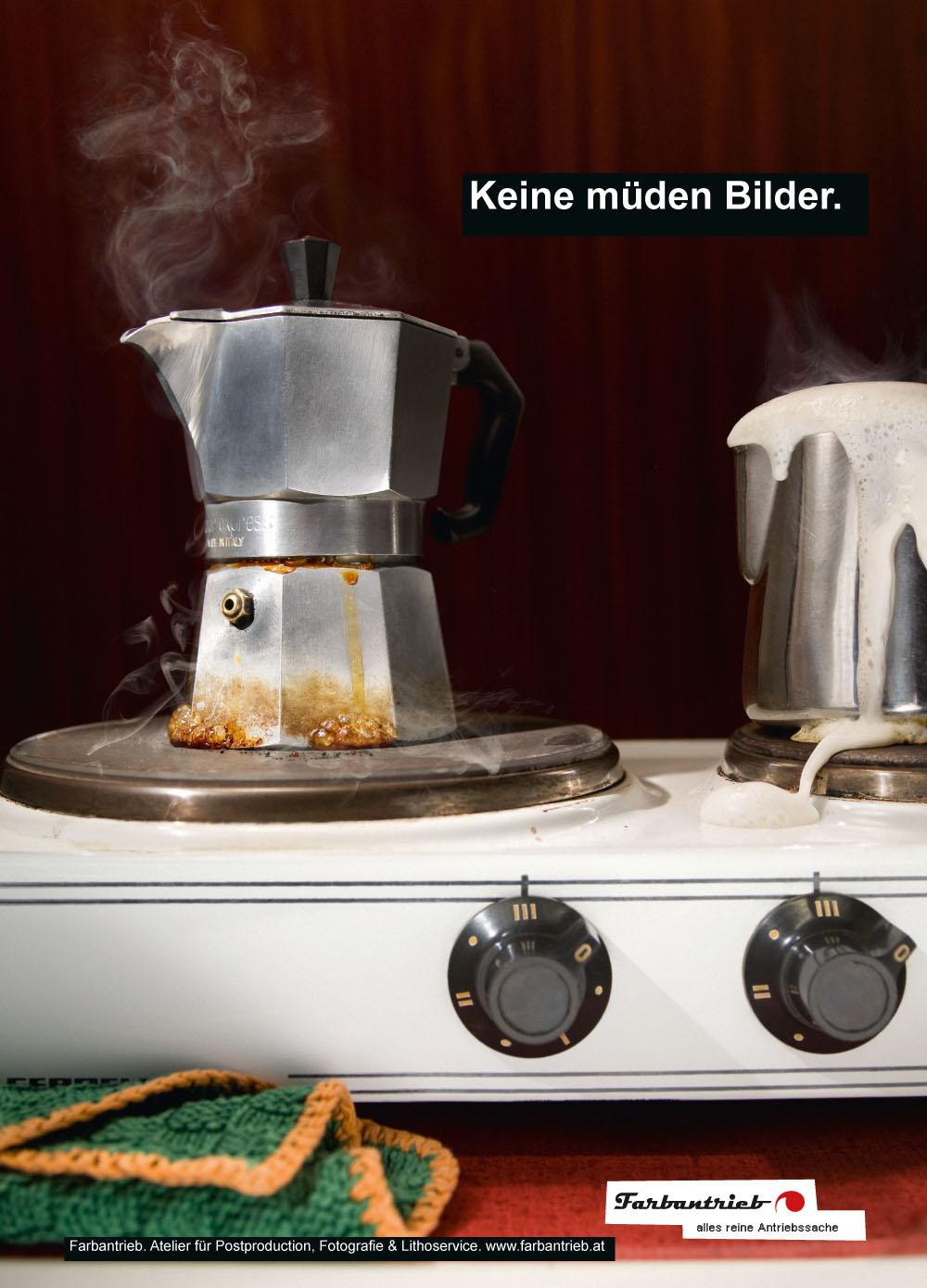 Farbantrieb Print Ad -  Breakfast