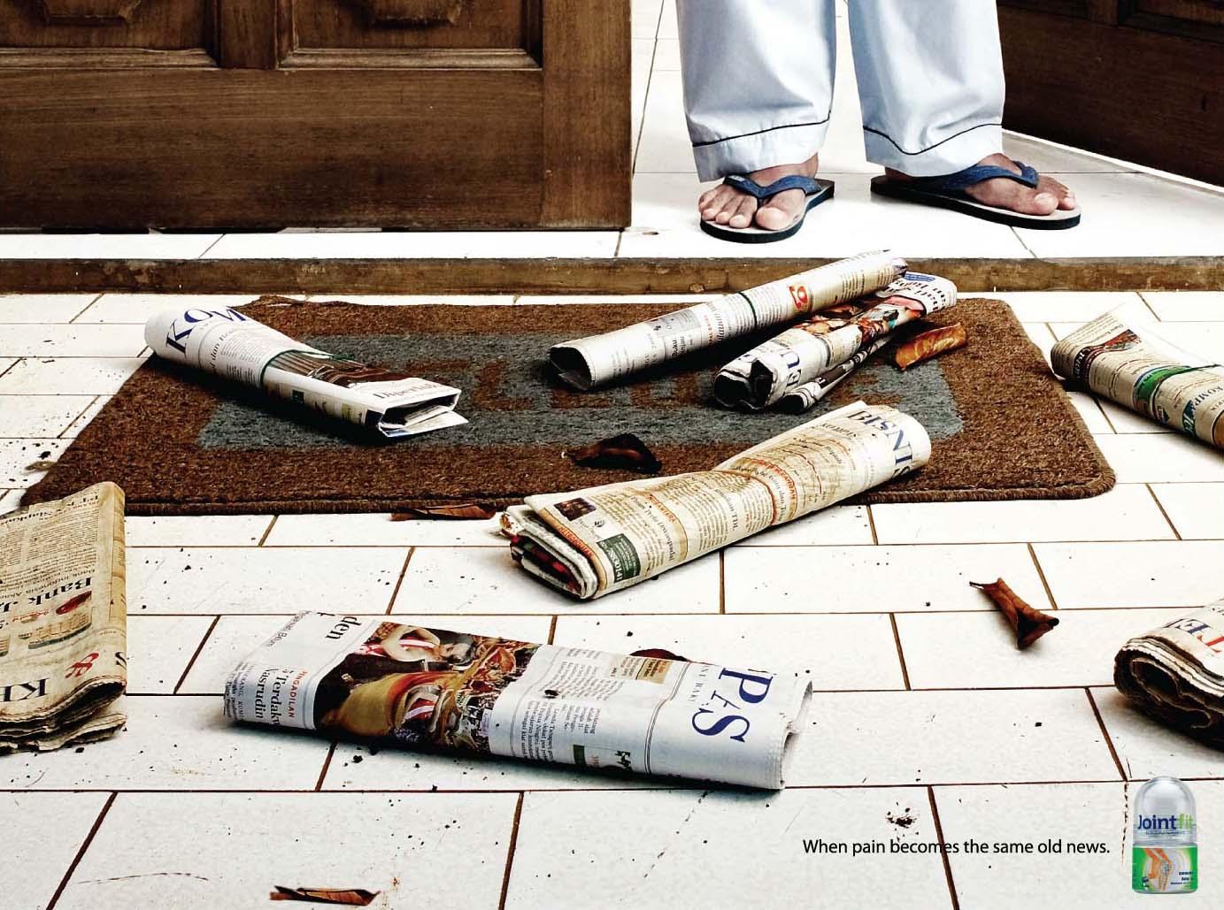 Jointfit Print Ad -  Newspaper