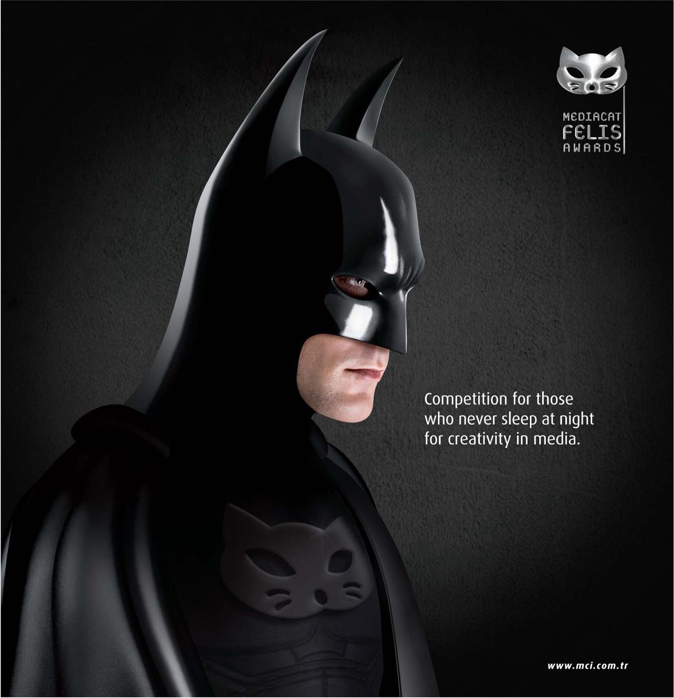 Felis Awards Print Ad -  Batman