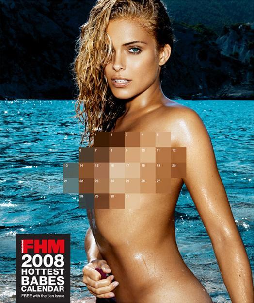 FHM Print Ad -  Calendar