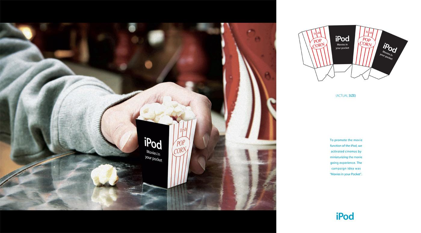 Movies in your Pocket campaign, Popcorn