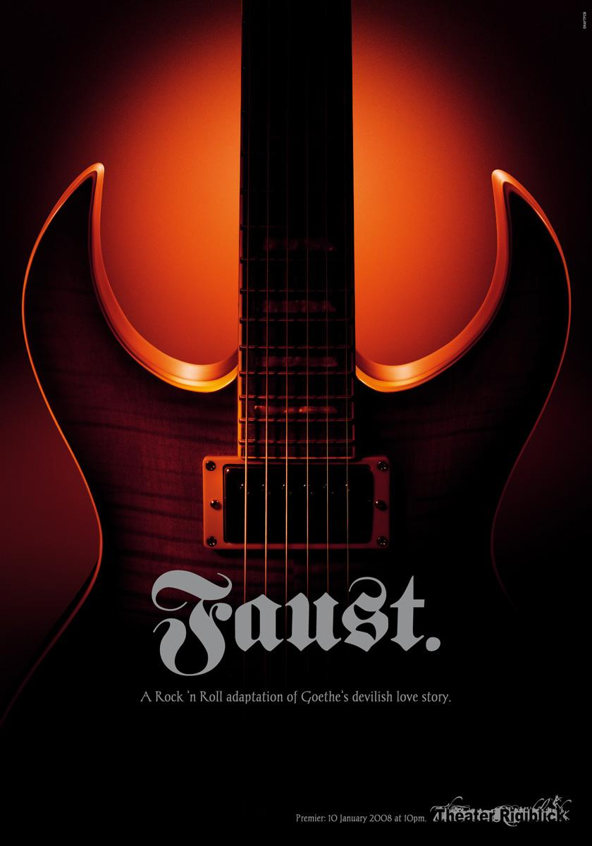 Theater Rigiblick Print Ad -  Guitar