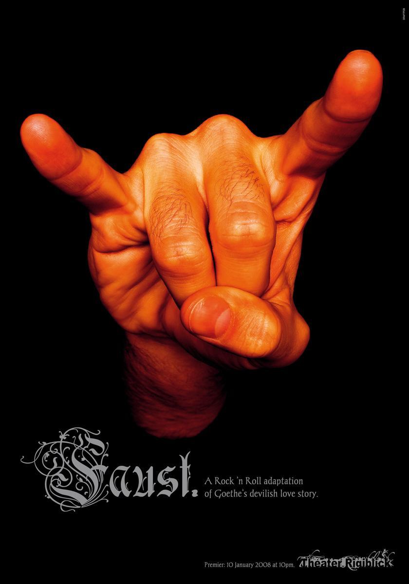 Theater Rigiblick Print Ad -  Hand