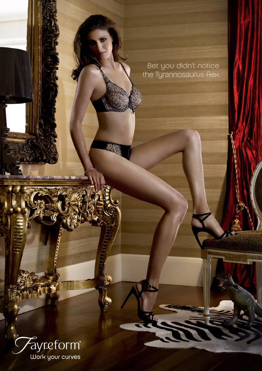 Fayreform Print Ad -  Work Your Curves, 3
