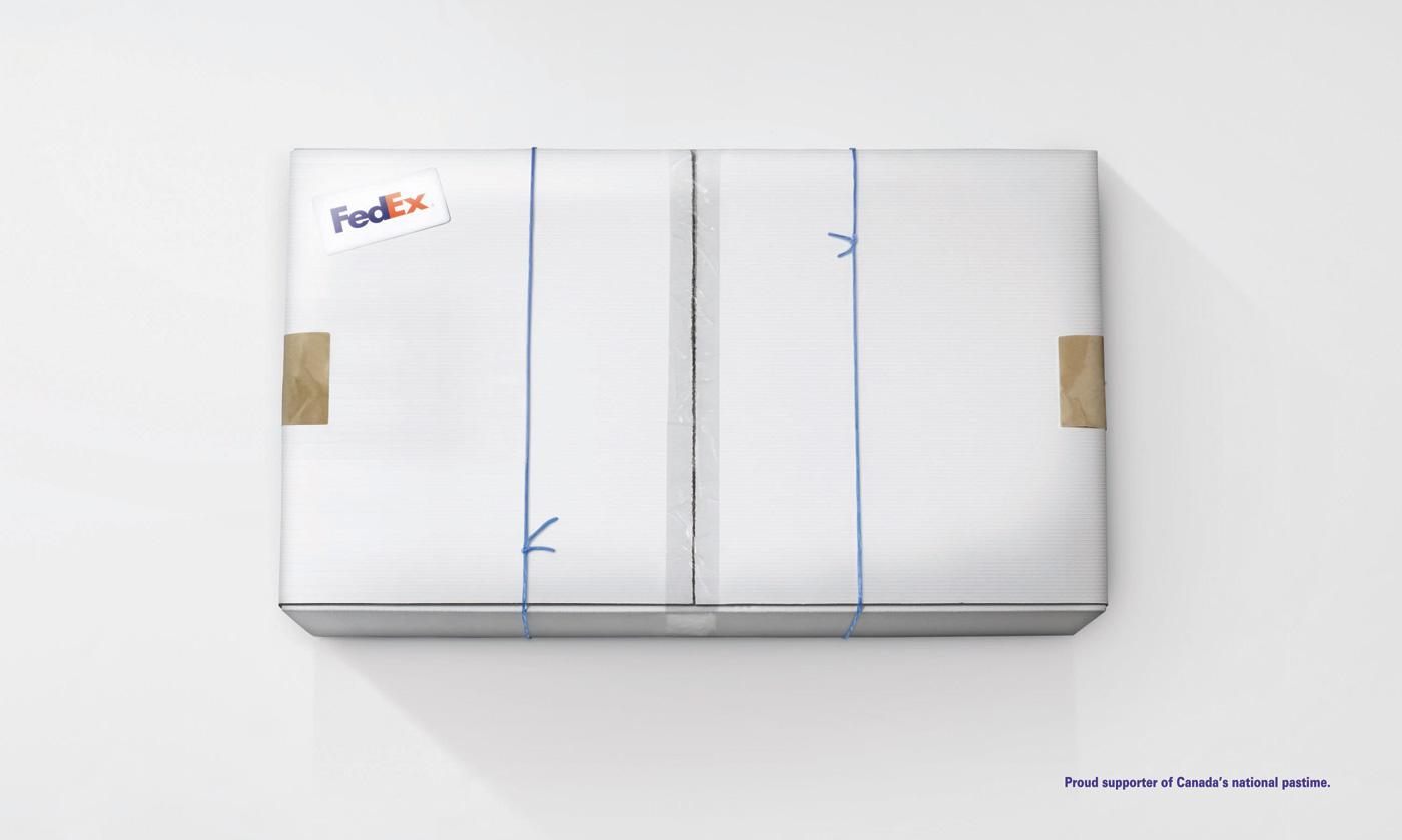 FedEx Print Ad -  Hockey