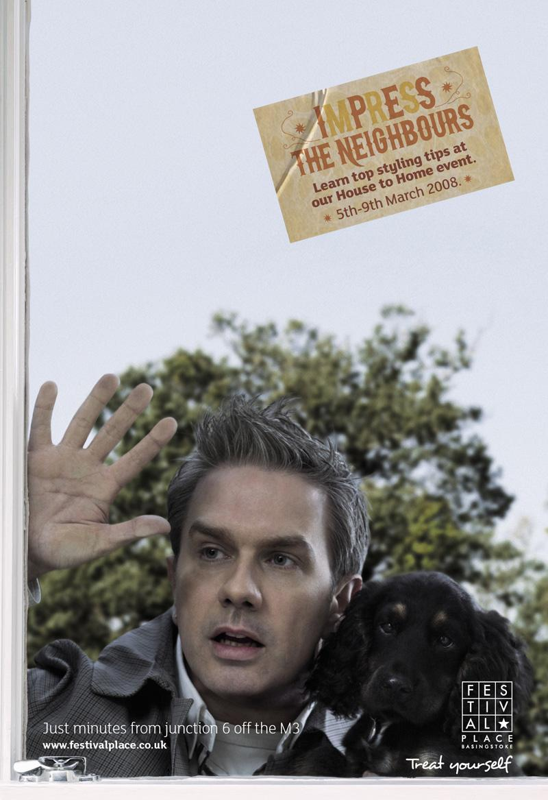 Festival Place Print Ad -  Neighbours, 3
