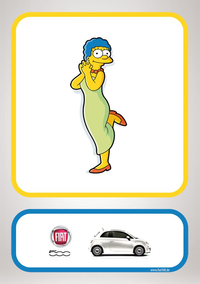 Fiat Print Ad -  Marge