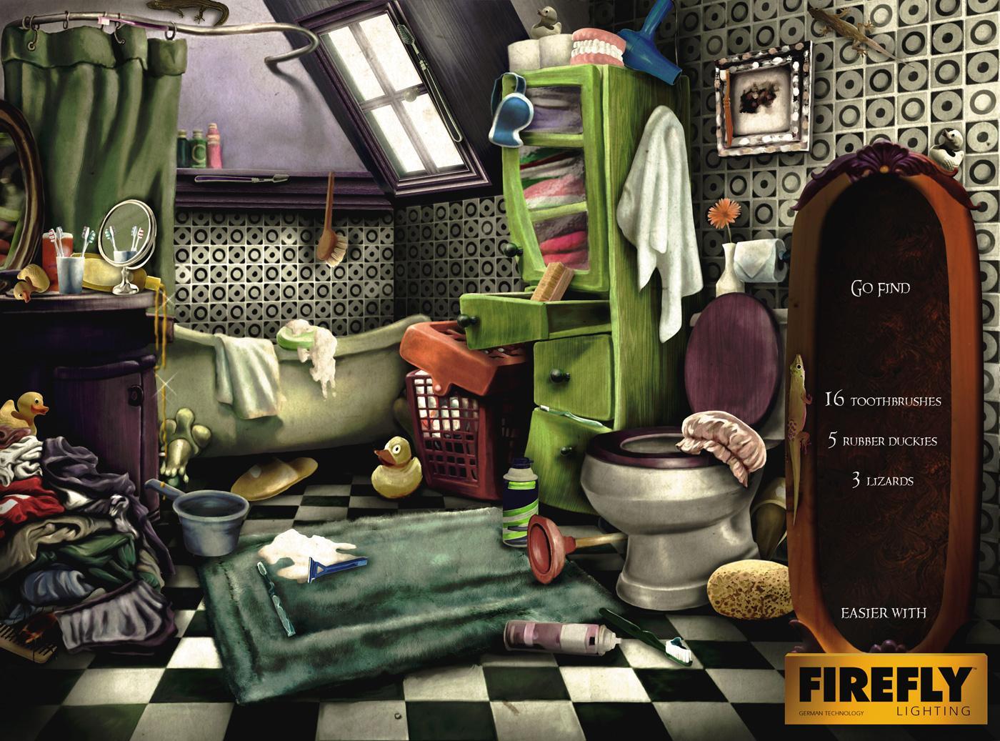 Firefly Print Ad -  Bathroom