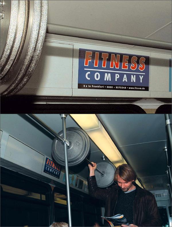 Fitness company subway
